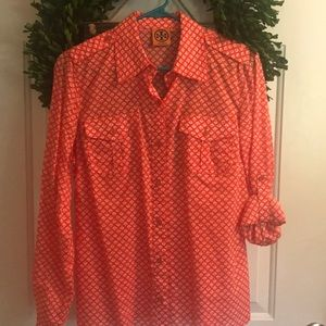 Tory Burch Button Up - Size 6